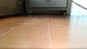 地板清潔示範